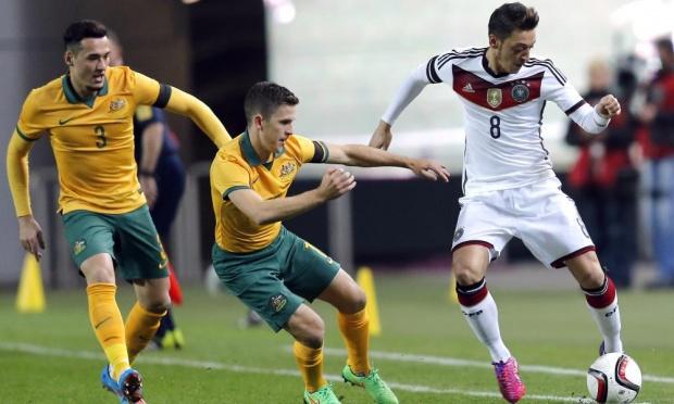 دانلود بازی دوستانه آلمان استرالیا ۲۰۱۵
