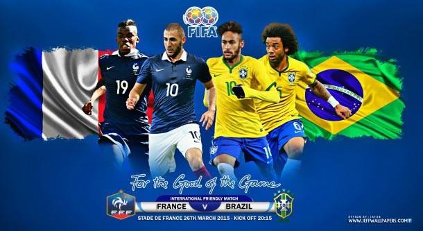دانلود بازی فوتبال برزیل-فرانسه 26/3/2015