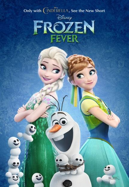 دانلود انیمیشن Frozen Fever 2015