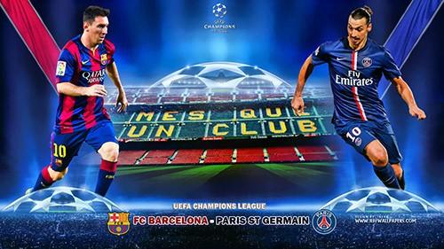 دانلود بازی فوتبال بارسلونا-پاری سن ژرمن Barcelona vs PSG 21.04.2015